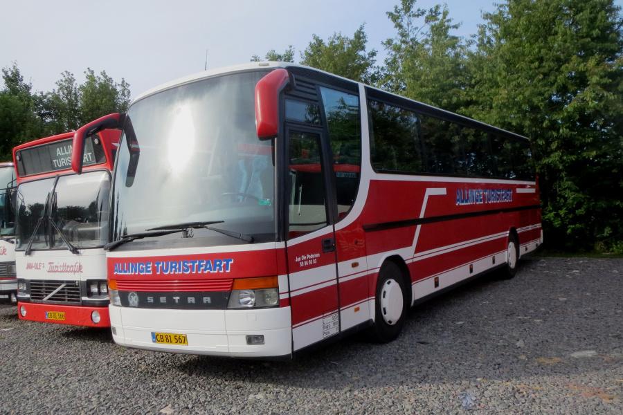 Jan-Oles Turisttrafik CB81567 i Aarsballe den 20. juli 2019