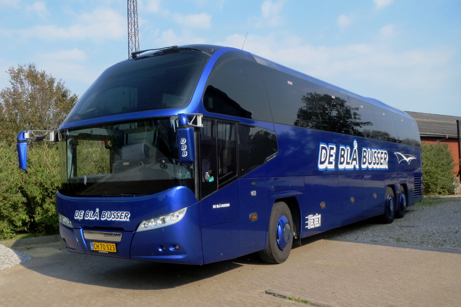 De Blå Busser CH70523 i Gredstedbro den 28. august 2019