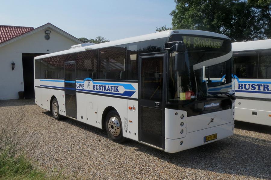 Give Taxi og Bustrafik CA94358 i Hedegård den 28. august 2019