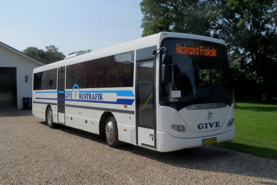 Give Taxi og Bustrafik CL49935 i Hedegård den 28. august 2019