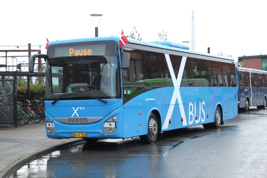 De Blå Busser 106/BN47756 ved Rutebilstationen i Esbjerg den 5. september 2019