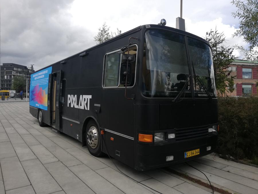 Pixlart CJ84344 ved Dok 1 i Aarhus den 2. september 2019