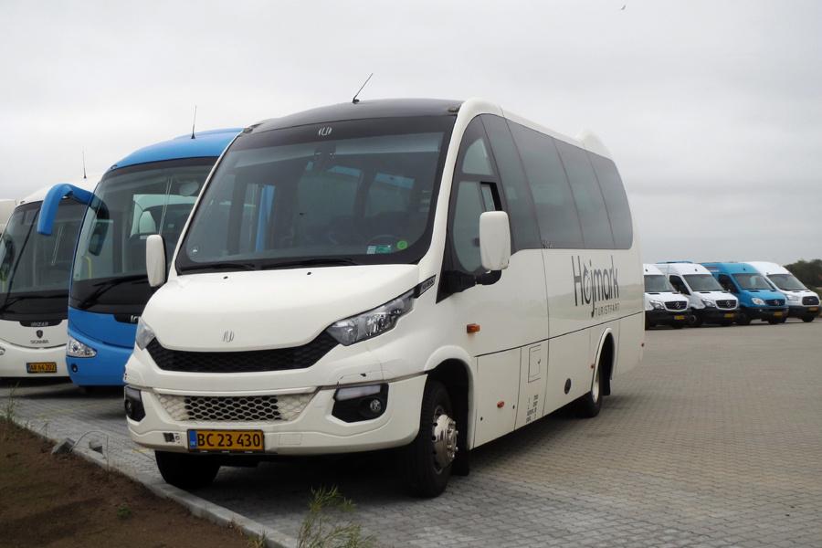 Holstebro Turistbusser 53/BC23430 ved garagen i Holstebro den 13. juli 2019