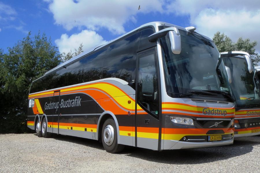 Gadstrup Bustrafik CA22696 ved garagen i Gadstrup den 16. juli 2019