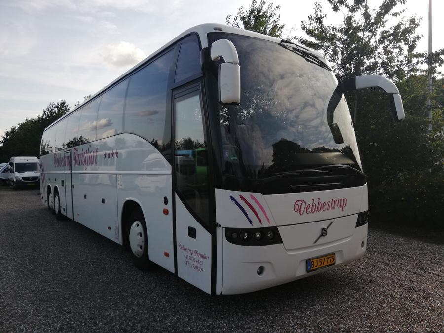 Vebbestrup Turistfart 50/BJ57775 i Vebbestrup den 3. juli 2019