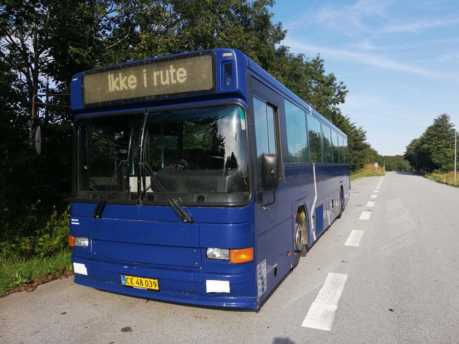Vebbestrup Turistfart 30/CE48039 i Vebbestrup den 3. juli 2019