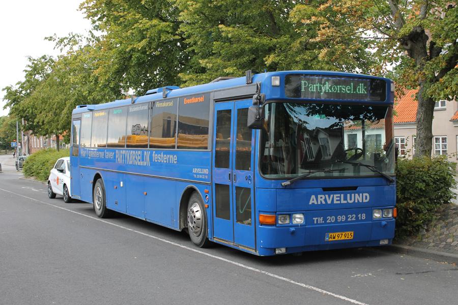Arvelund AW97915  på Roskilde Busterminal den 13. juli 2019