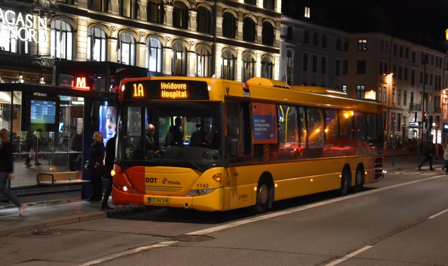 Arriva 1142/CG94341 på Kongens Nytorv i København den 18. september 2019