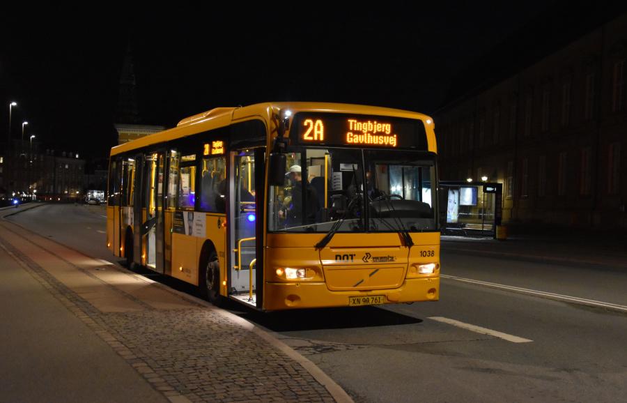 Arriva 1038/XN90761 på Øster Voldgade i København den 18. september 2019