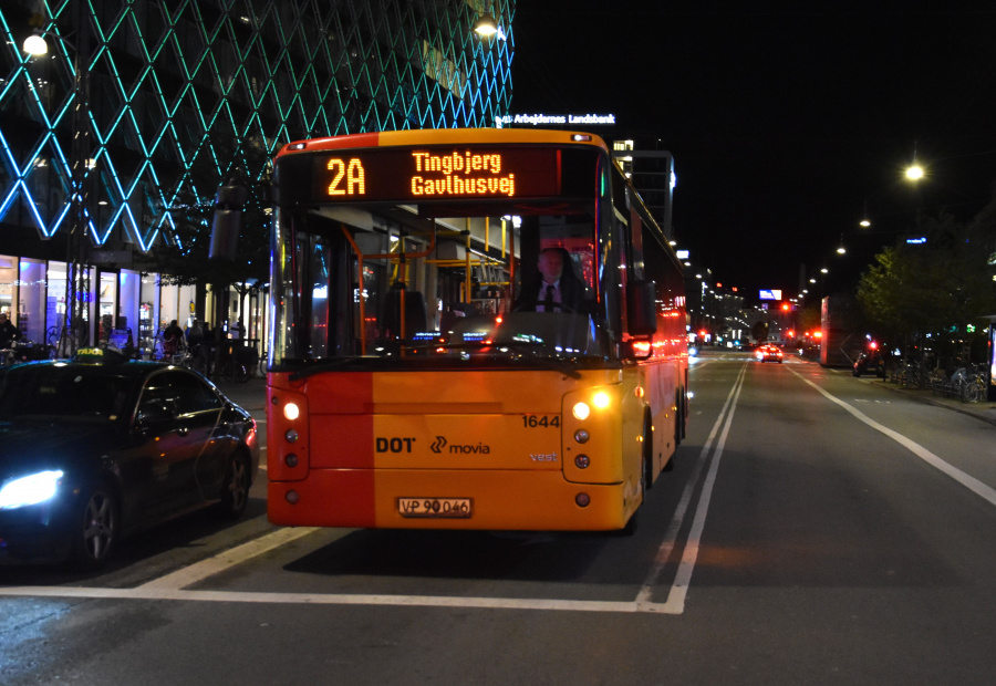 Arriva 1644/VP90046 på Vesterbrogade i København den 18. september 2019