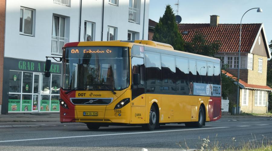 Arriva 1355/BV31334 på Gammel Køge Landevej i Hvidovre den 19. september 2019