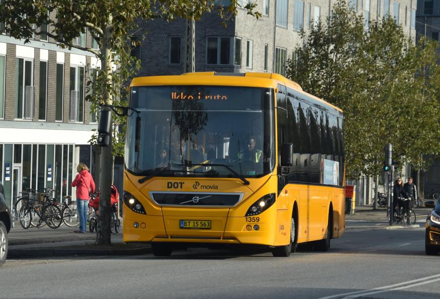 Arriva 1359/BT15563 på Gammel Køge Landevej i Valby den 19. september 2019