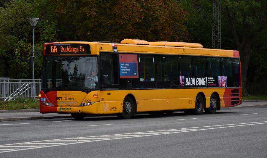 Arriva 1094/BW89992 på Sølvgade i København den 20. september 2019