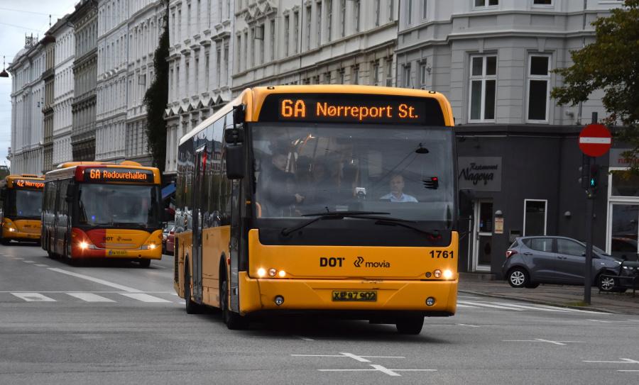 Arriva 1761/XE97902 på Sølvgade i København den 20. september 2019