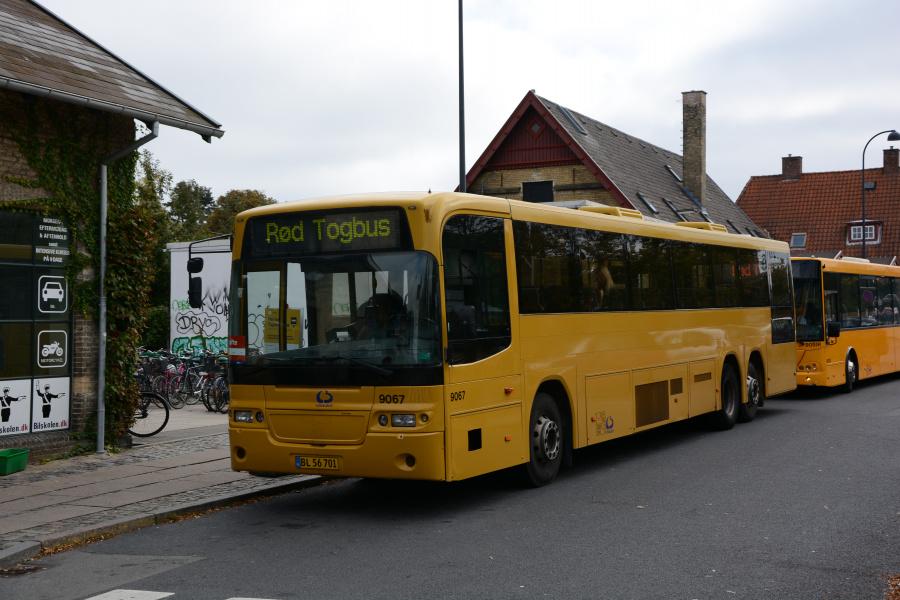 Lokalbus 9067/BL56701 ved Gentofte St. den 21. september 2019
