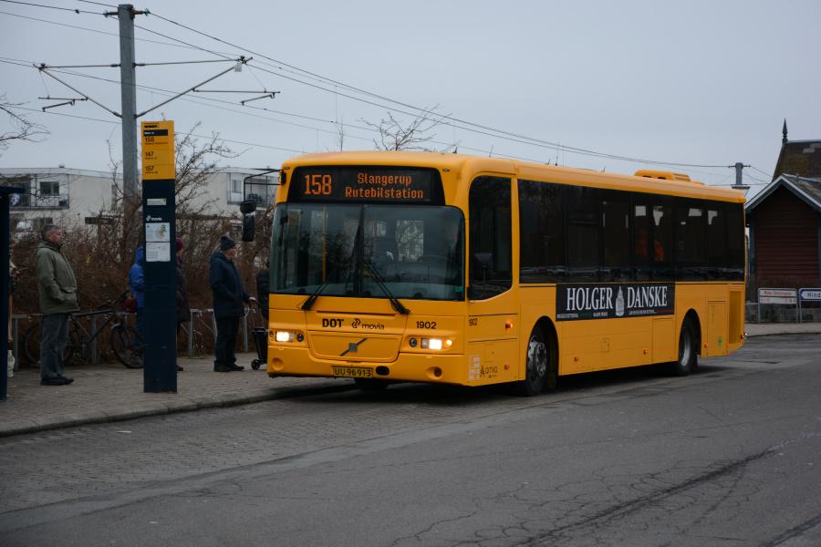 Arriva 1902/UU96913 ved Måløv St. den 23. marts 2018