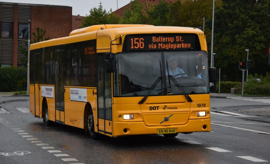 Arriva 1978/XN90840 på Banegårdspladsen i Ballerup den 10. september 2019