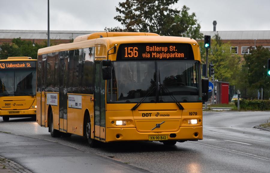 Arriva 1979/XN90841 på Bydammen i Ballerup den 10. september 2019