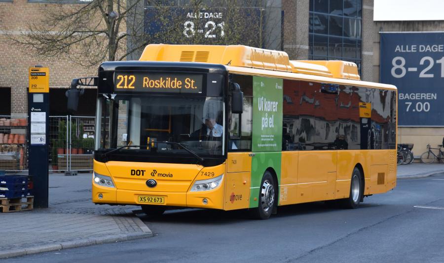 Umove 7429/XS92673 på Roskilde St. den 24. april 2019