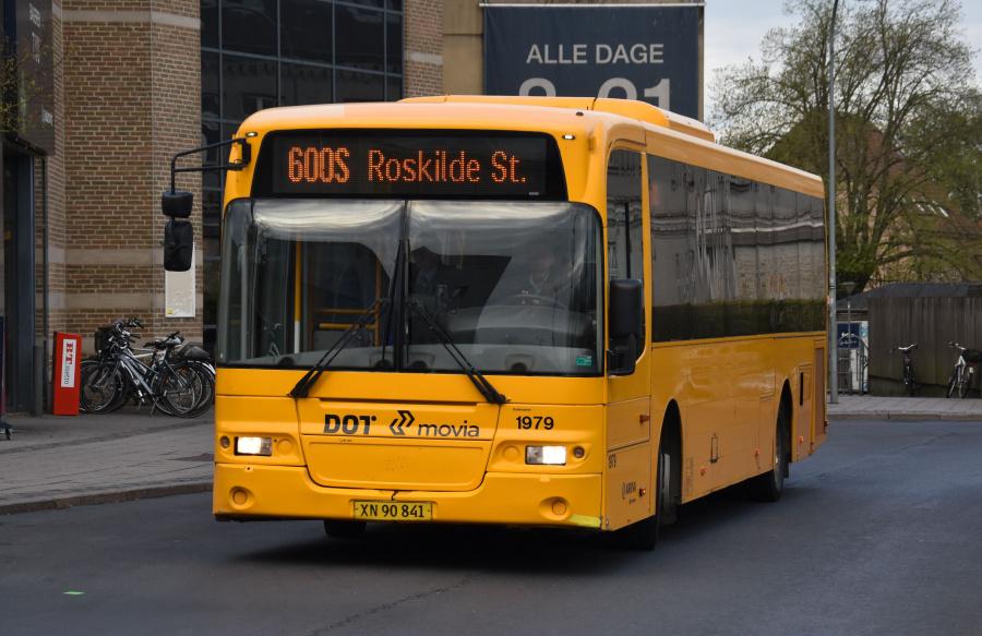 Arriva 1979/XN90841 på Roskilde St. den 24. april 2019