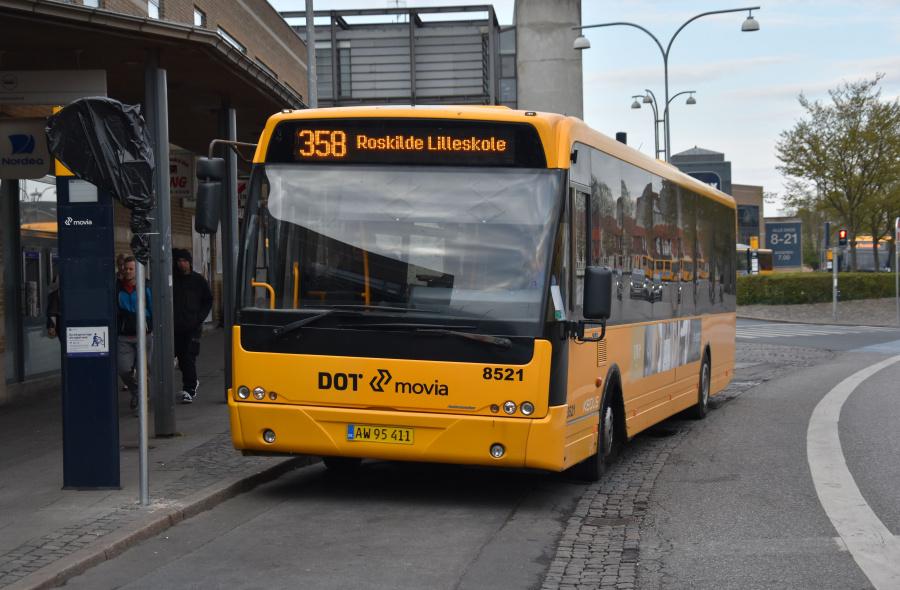 Keolis 8521/AW95411 på Roskilde St. den 24. april 2019
