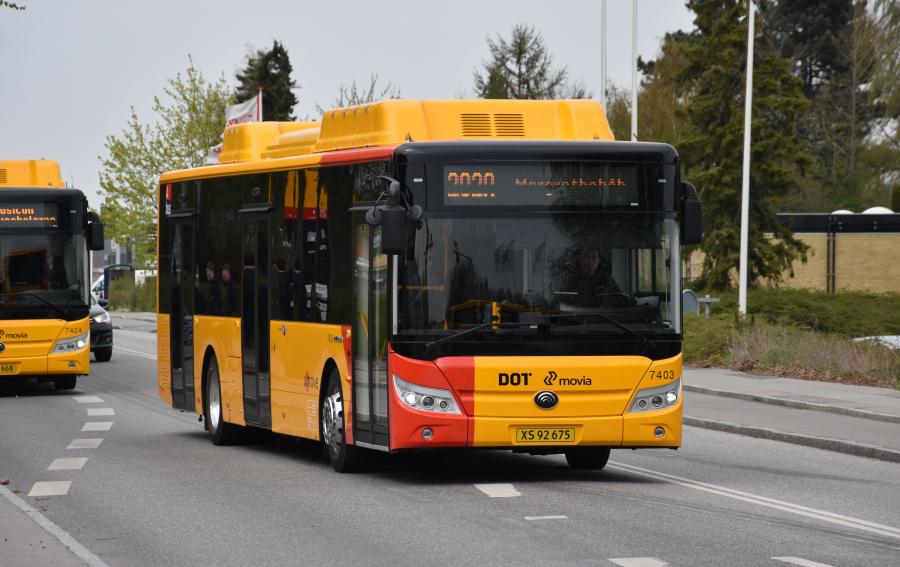 Umove 7403/XS92675 på Maglegårdsvej i Roskilde den 24. april 2019