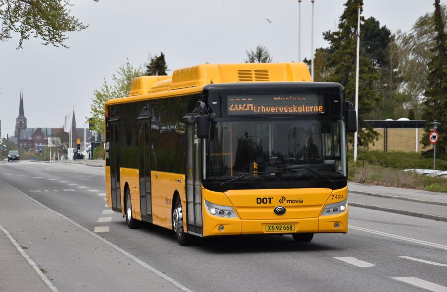 Umove 7424/XS92668 på Maglegårdsvej i Roskilde den 24. april 2019