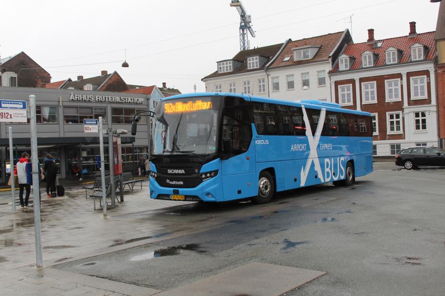 Keolis 884/CH74568 på Århus Rutebilstation den 29. september 2019