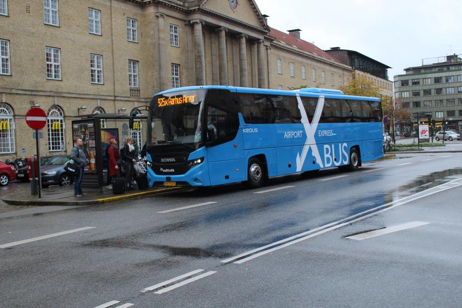 Keolis 890/CH74574 på Banegårdspladsen i Århus den 29. september 2019