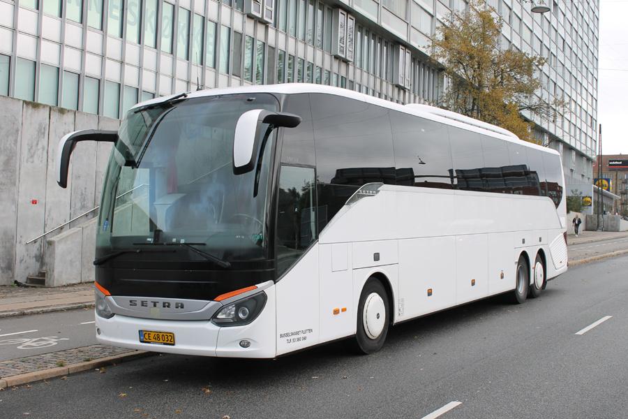 Busselskabet Pletten CE48032 ved Ryparken Station i København den 18. oktober 2019
