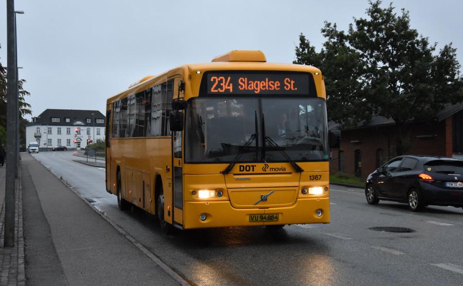 Arriva 1367/VU94884 ved Slagelse St. den 27. september 2019