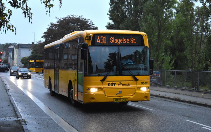 Arriva 5662/XM90598 ved Slagelse St. den 27. september 2019