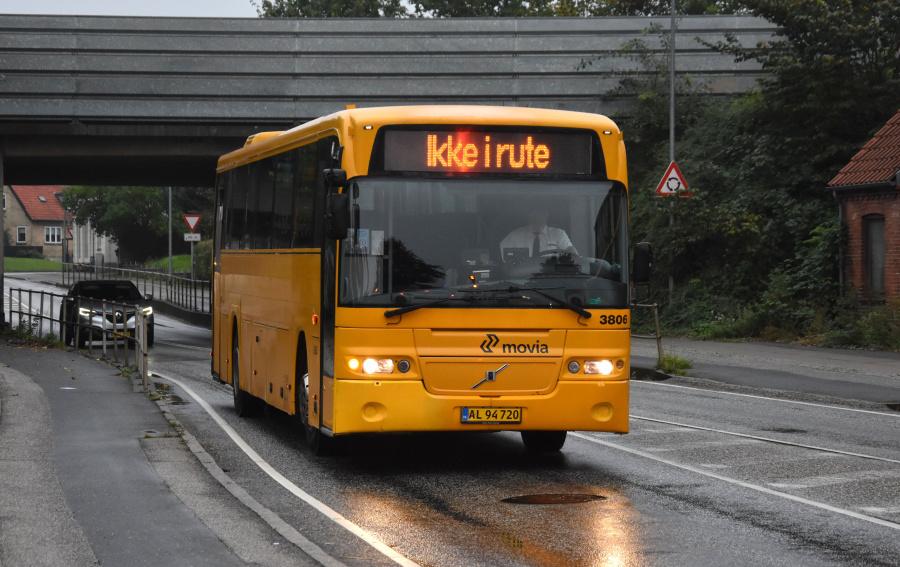 Egons Turist- og Minibusser 3806/AL94720 på Kalundborgvej i Slagelse den 27. september 2019