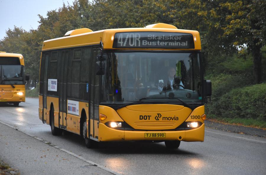 Arriva 1300/TJ88590 ved Slagelse St. den 27. september 2019