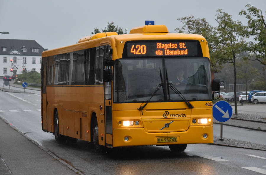 Ditobus 4625/UX95747 ved Slagelse St. den 27. september 2019