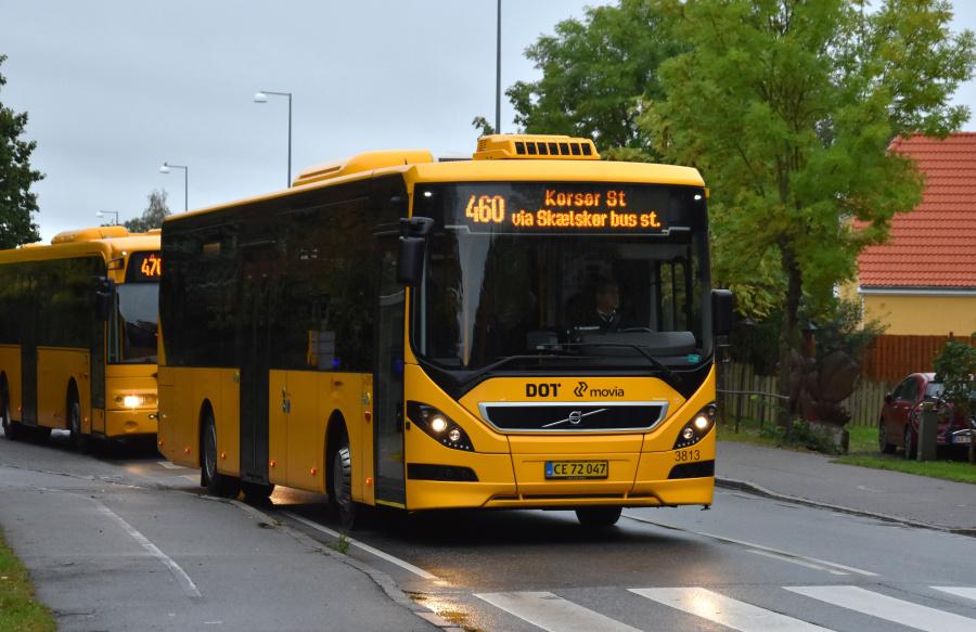 Egons Turist- og Minibusser 3813/CE72047 på Slagelse Landevej i Skælskør den 27. september 2019