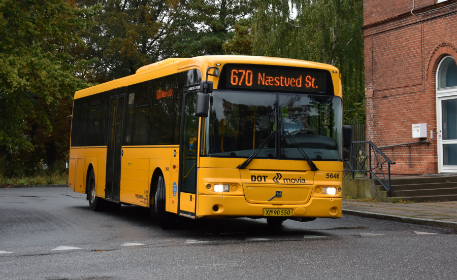 Arriva 5646/XM90550 i Skælskør den 27. september 2019