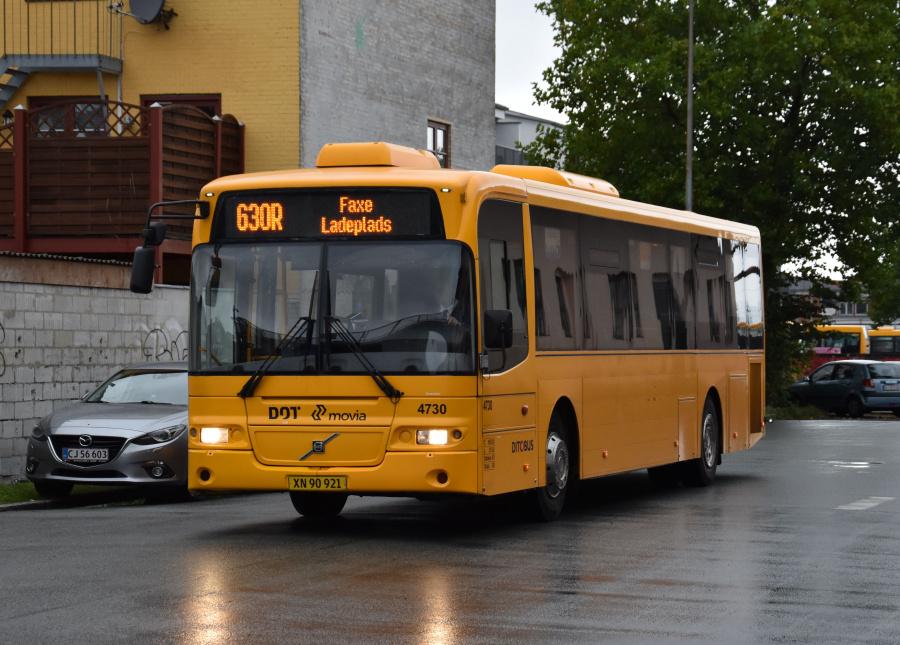 Ditobus 4730/XN90921 ved Næstved St. den 27. september 2019