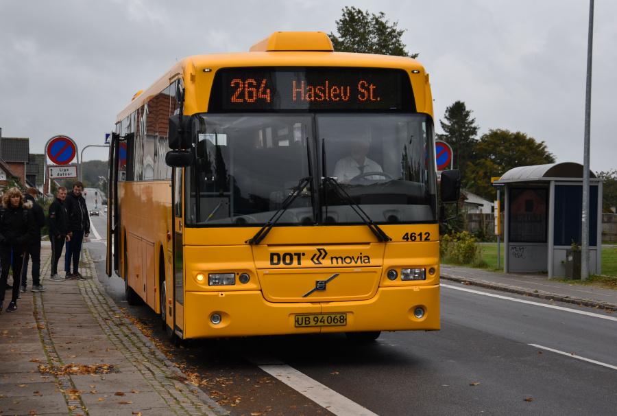 Ditobus 4612/UB94068 på Bregentvedvej i Haslev den 27. september 2019