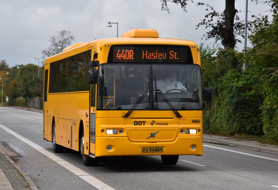 Ditobus 4664/VU94869 på Ringstedvej Haslev den 27. september 2019
