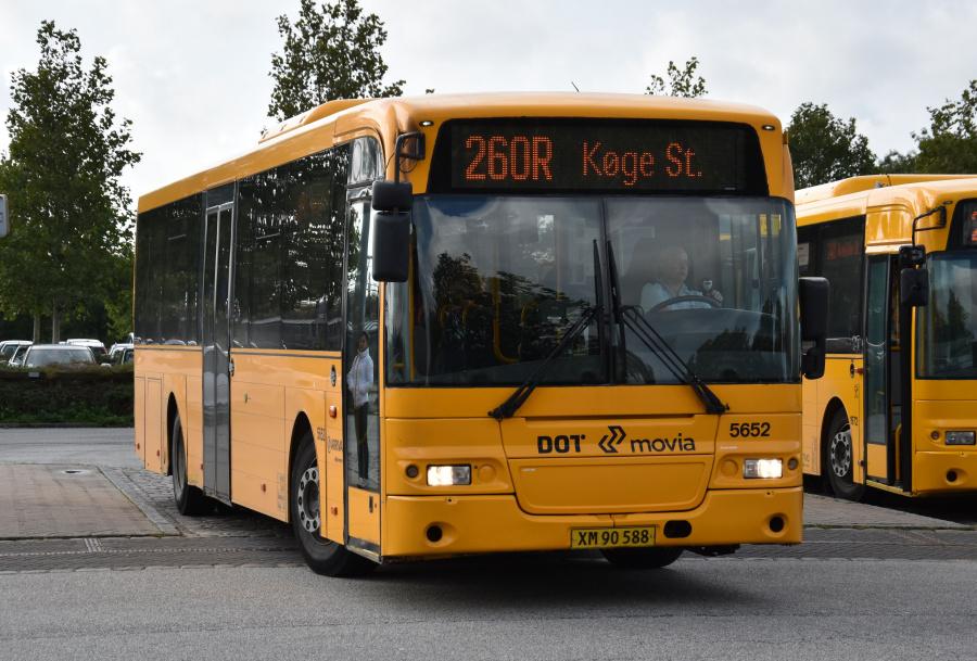 Arriva 5652/XM90588 ved Ringsted St. den 27. september 2019