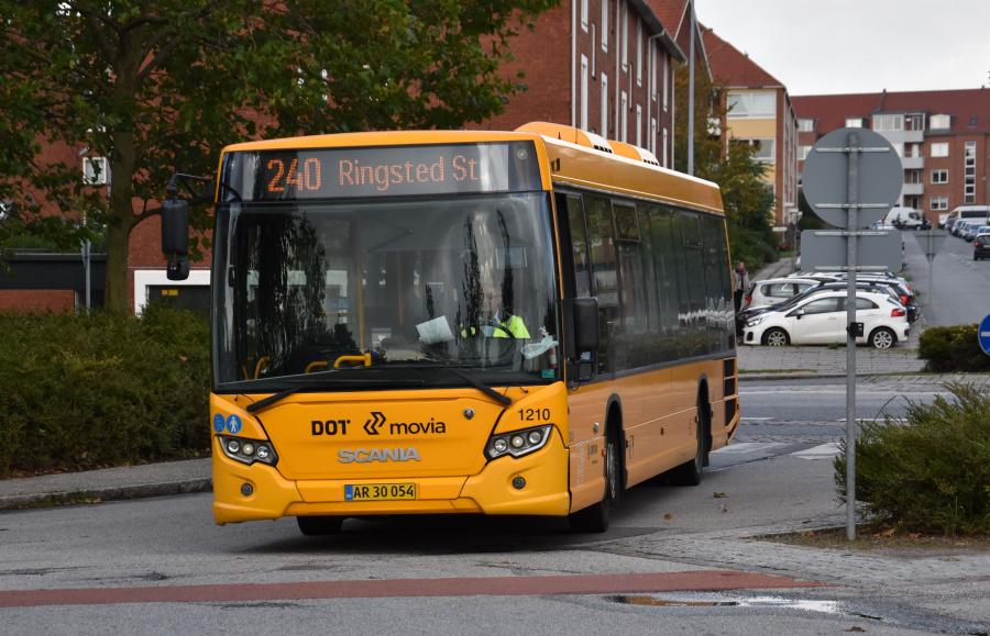 Arriva 1210/AR30054 ved Ringsted St. den 27. september 2019