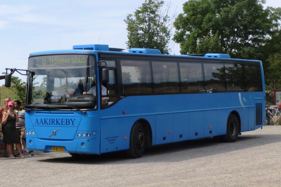 Aakirkeby Turist- og Selskabskørsel CB81571 ved Hammershus den 20. juli 2019
