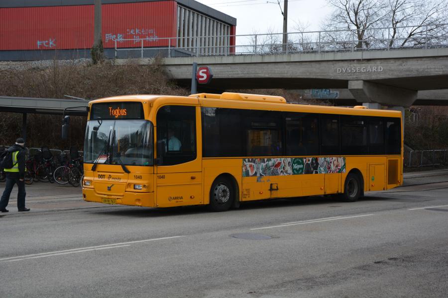 Arriva 1040/XN90763 ved Dyssegård St. den 26. marts 2018