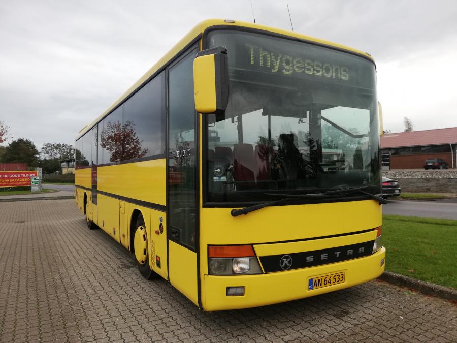 Østjydsk Mini- og Turistbusser AN64533 i Tilst den 28. september 2019