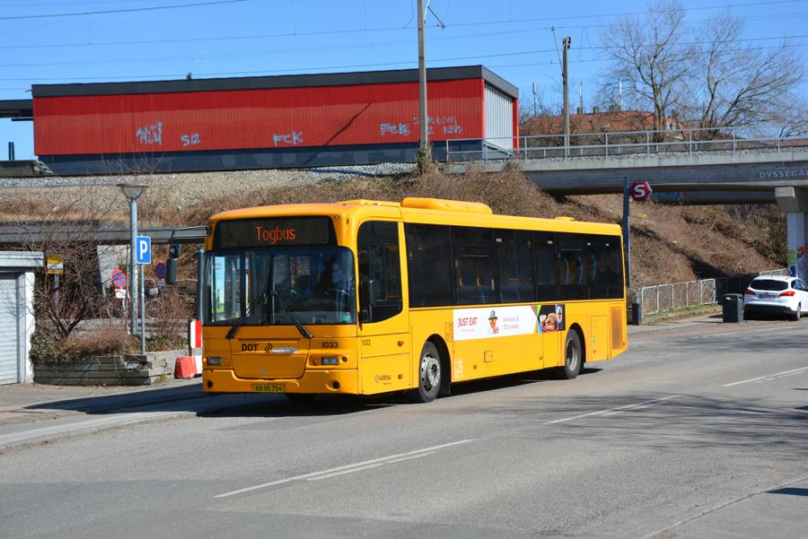 Arriva 1033/XN90754 ved Dyssegård Station den 2. april 2018