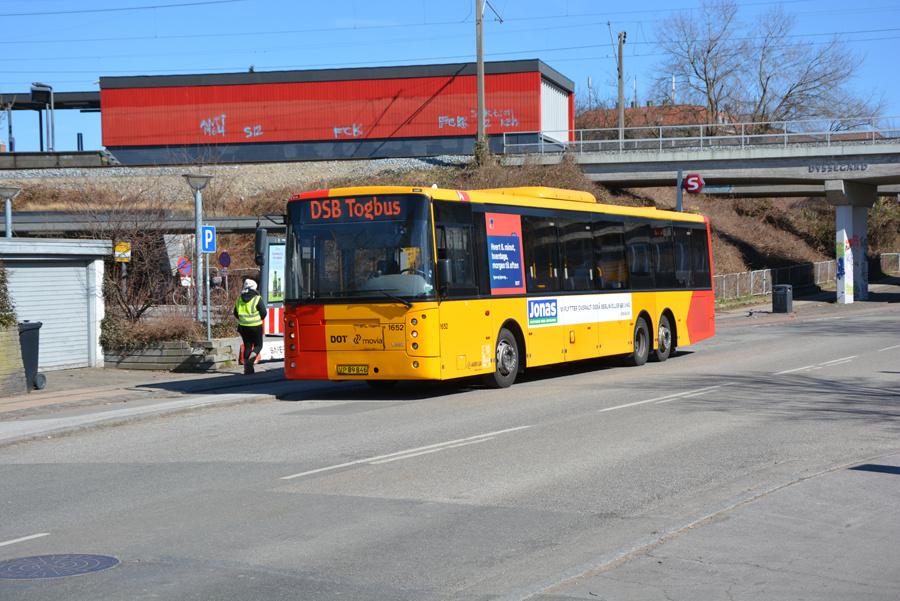 Arriva 1652/VP89846 ved Dyssegård Station den 2. april 2018