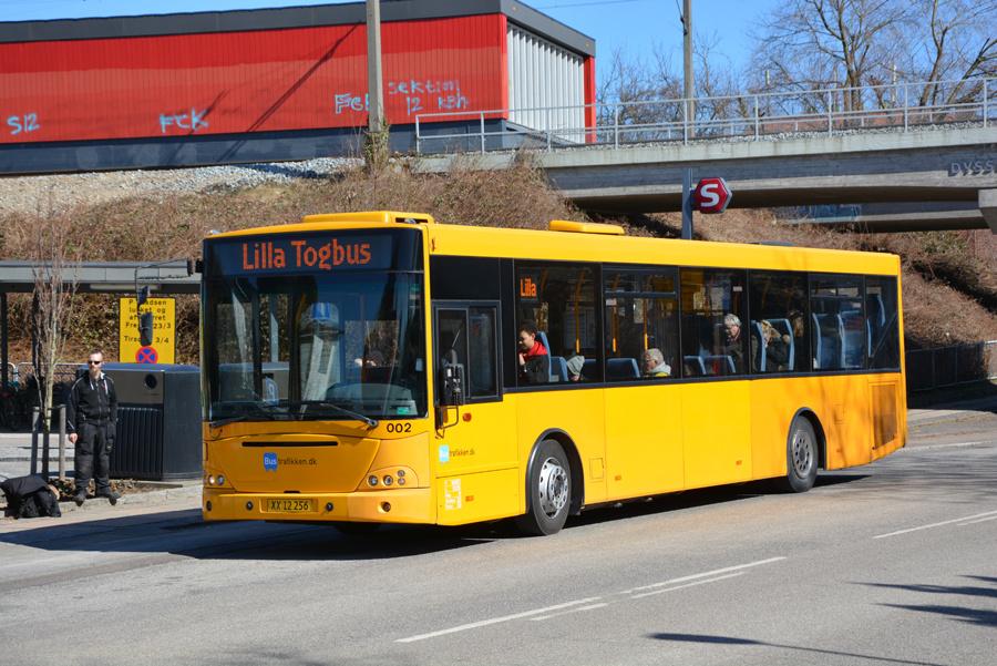 Bustrafikken.dk 002/XX12256 ved Dyssegård Station den 2. april 2018