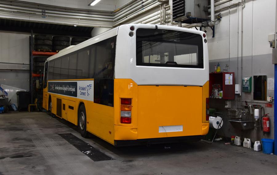 Nuup Bussii 13/GR49469 i garagen i Nuuk i Grønland den 24. september 2019