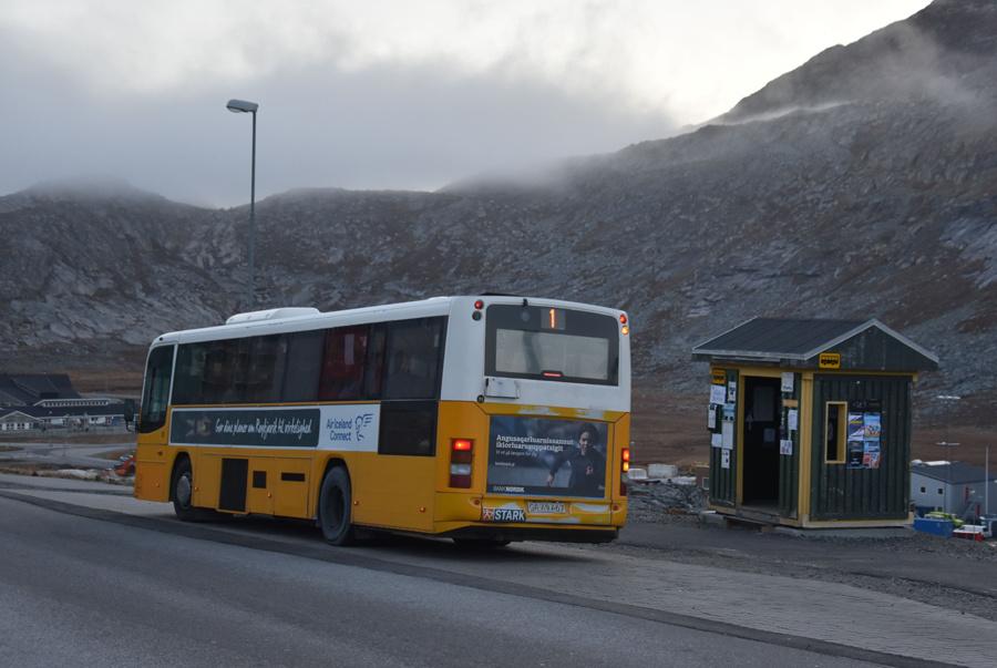 Nuup Bussii 11/GR49467 på Suloraq i Qinngorput i Grønland den 25. september 2019